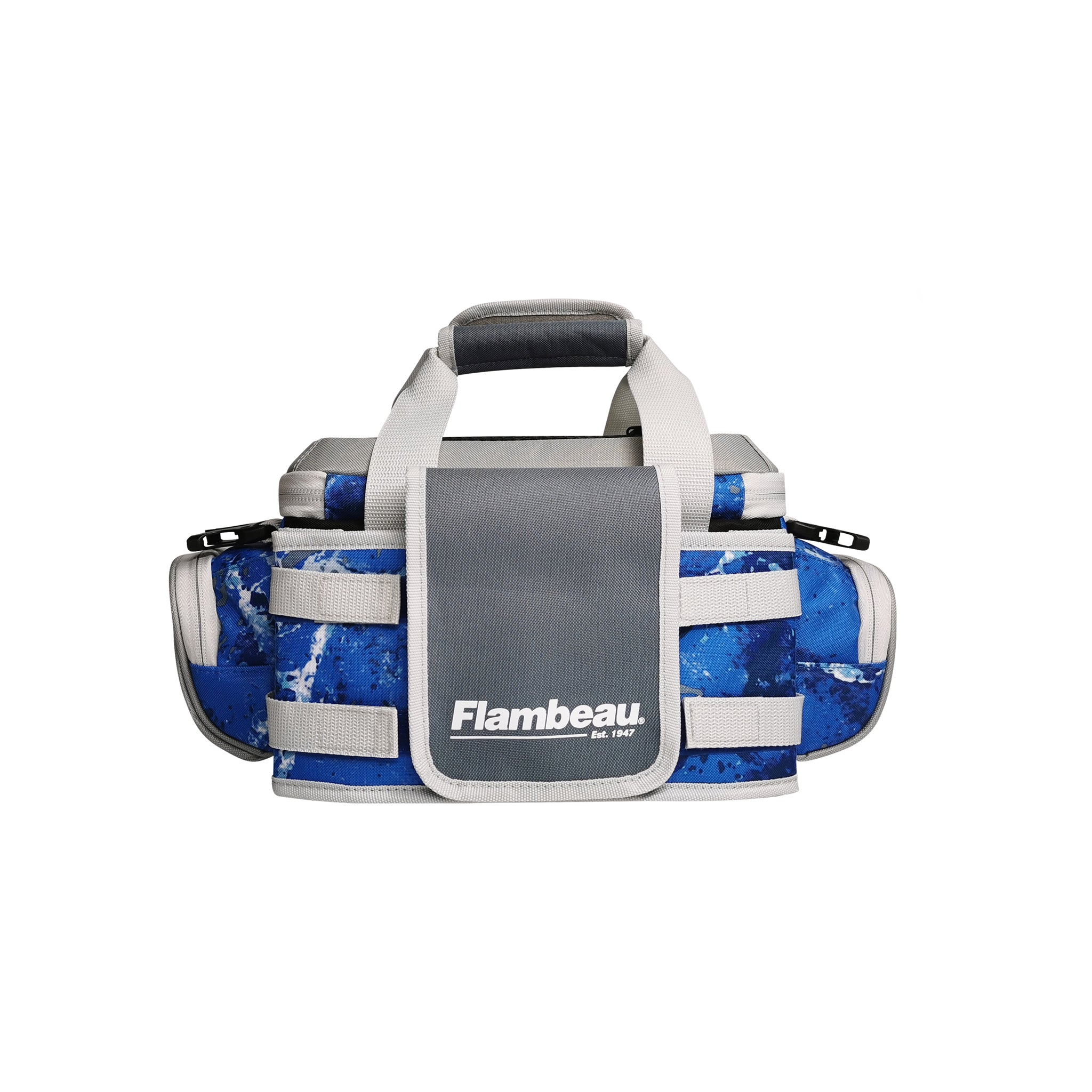 4007 Flambeau Pro-Angler Tackle Bag (Kinetic Blue)