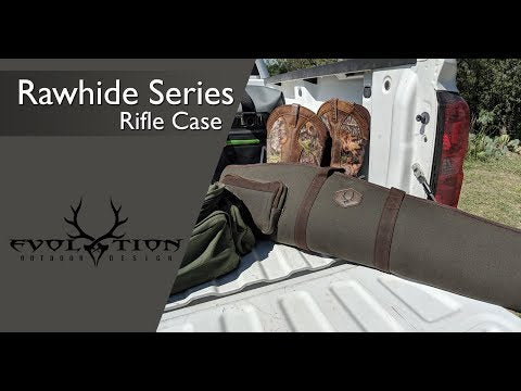 Rawhide Series Waxed Canvas Rifle Case