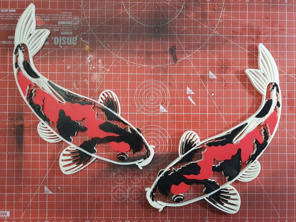 201 Design your own Koi Wall Decor RIGHT