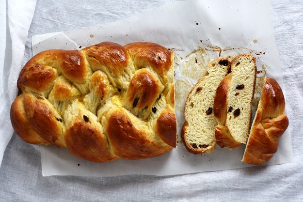 german braided sweet bread