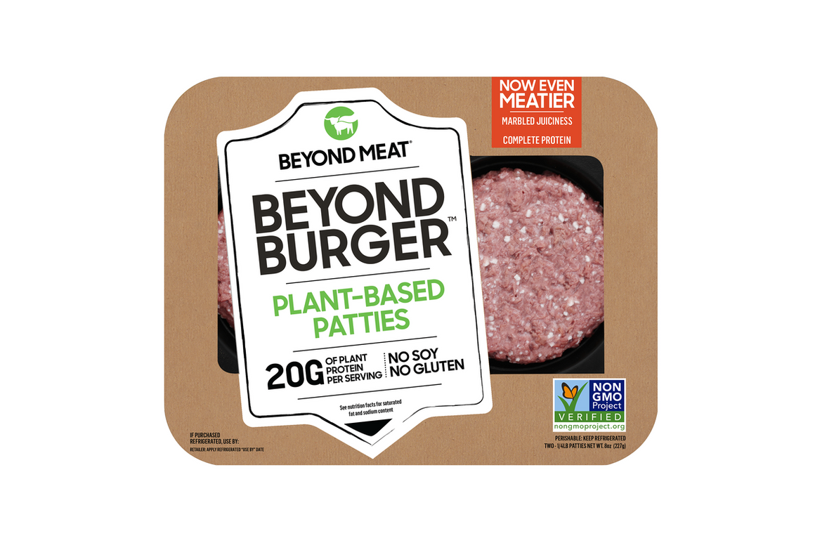 Beyond Meat Burgers 4oz (4 pack)
