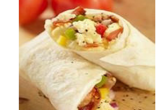 Turkey and Egg Breakfast Burrito
