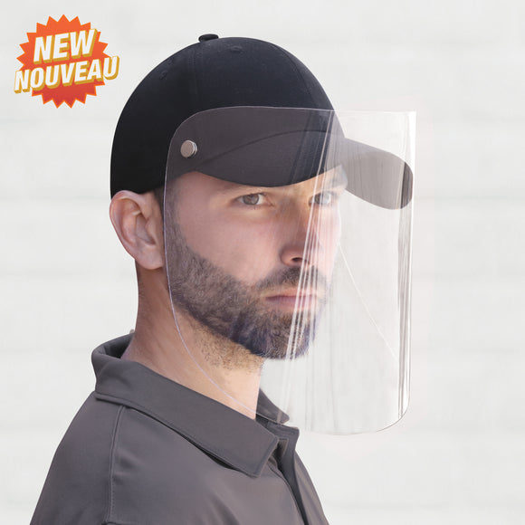 Ball Cap with Face Shield *From Canada*