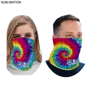 Customized Full Color Lightweight Seamless Neck Gaiter