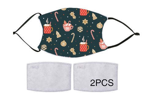 Copy of 7-ply Fashion Face Mask - Christmas Warmth