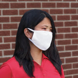 Custom Cotton 2-Layer Face Mask (Vinyl One Color Logo)