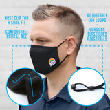 3-Layer Adjustable Face Mask (Blank)