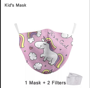 Child Premium Designer Face Masks