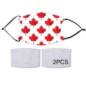 7-ply Fashion Face Mask - Oh Canada