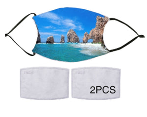 7-ply Fashion Face Mask - Los Cabos Arch
