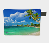 Designer Face Mask Pouch - Paradise Awaits