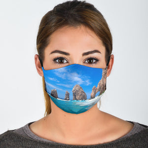 Premium Designer Face Mask - Cabo Breeze