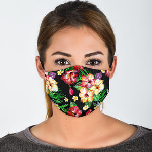 Premium Designer Face Mask - Hawaiian Shirt