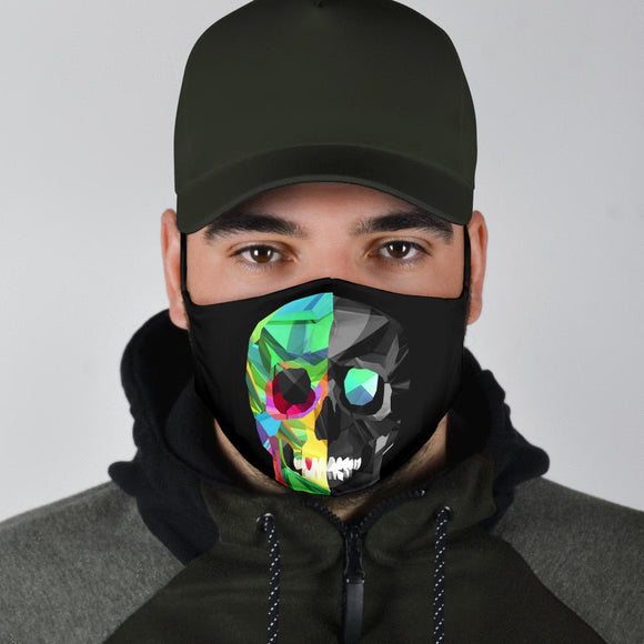 Premium Designer Face Mask - Skully Face