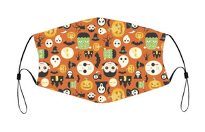 2-ply Halloween Face Mask - In the Spirit