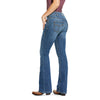 Women's R.E.A.L. Mid Rise Arrow Fit Stretch Boot Cut Jean
