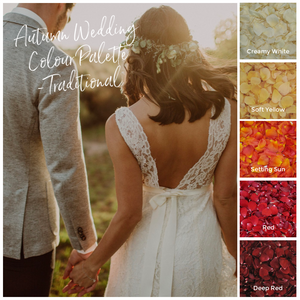 Autumn Wedding Palettes - From Traditional to Modern