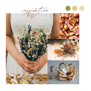 Dried Flower Trend For Weddings