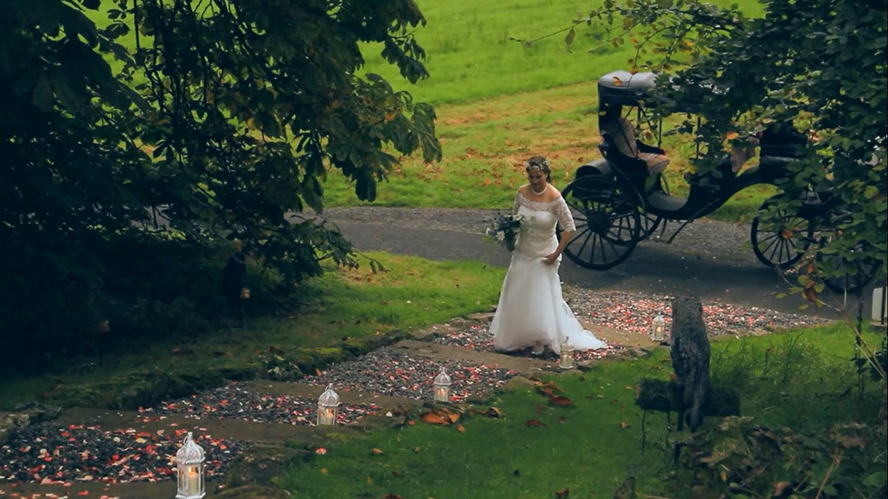 Michelle and Shane's Romantic Ballyfin Wedding