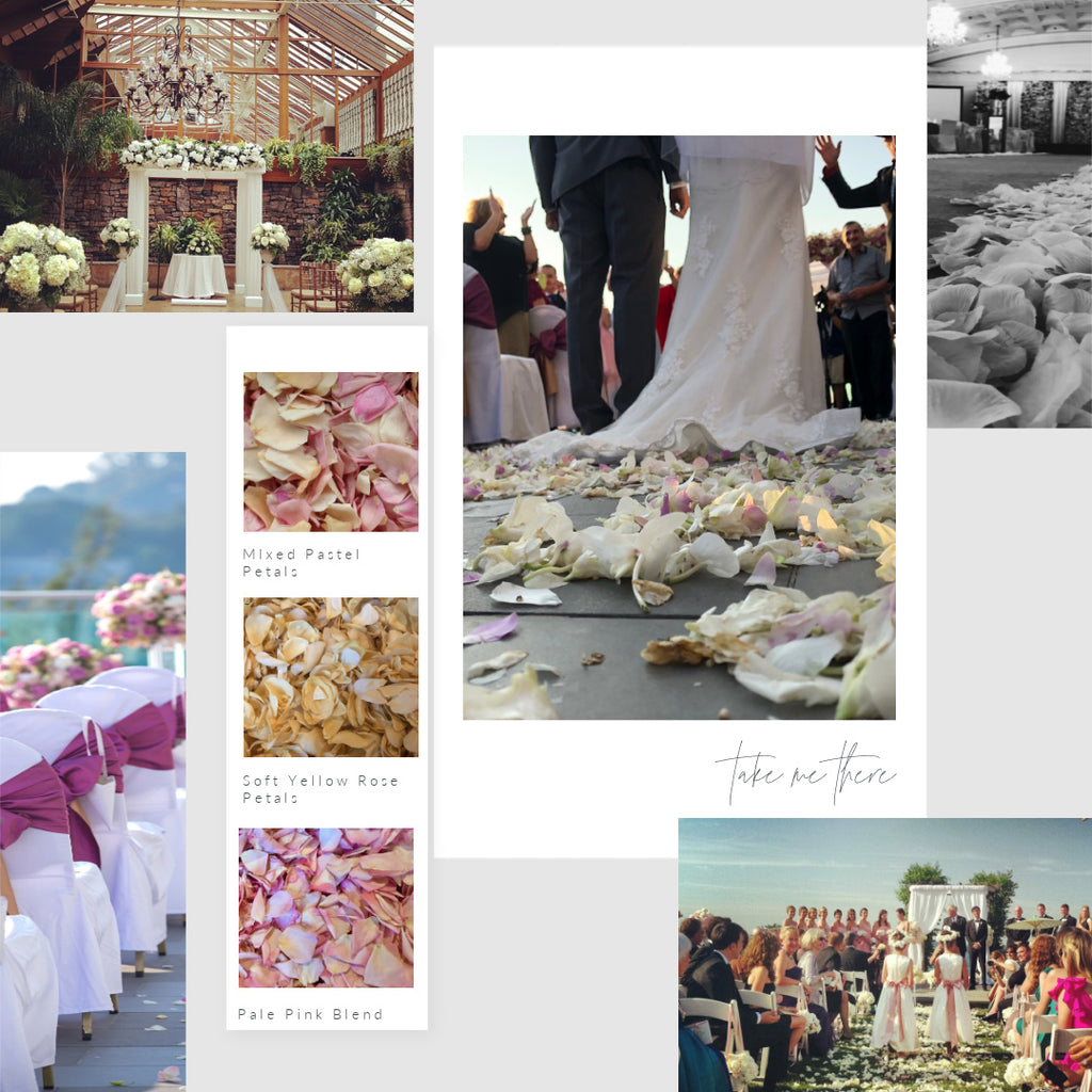 Creating A Magical Petal Aisle