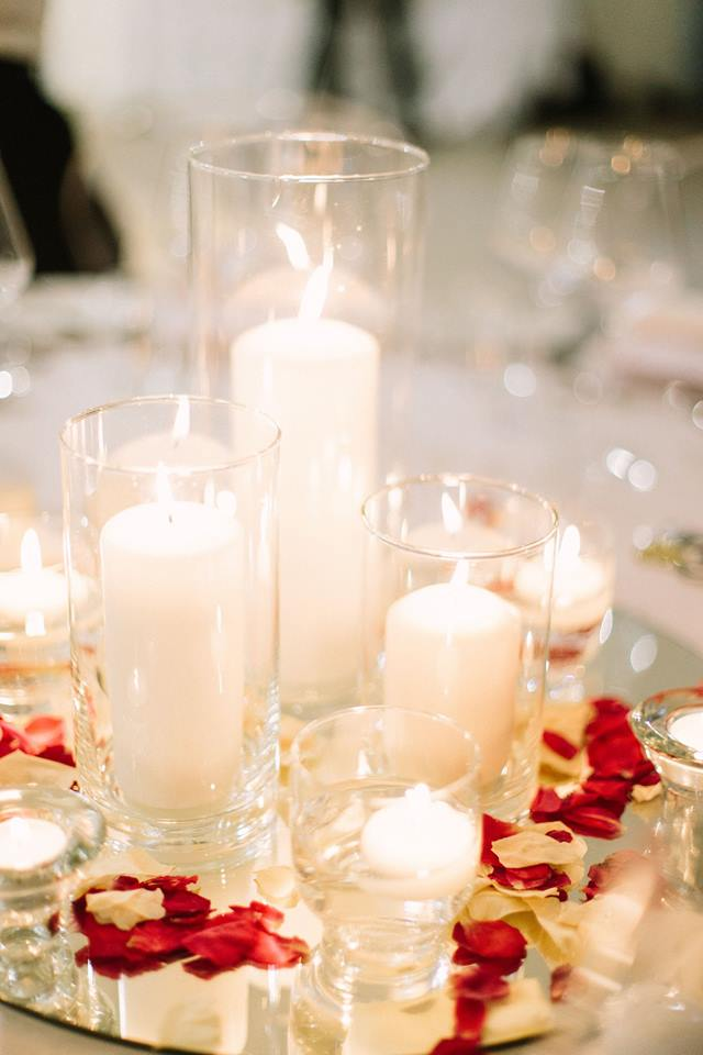 Stunning Candle Centrepiece Ideas For Your Upcoming Wedding Feast