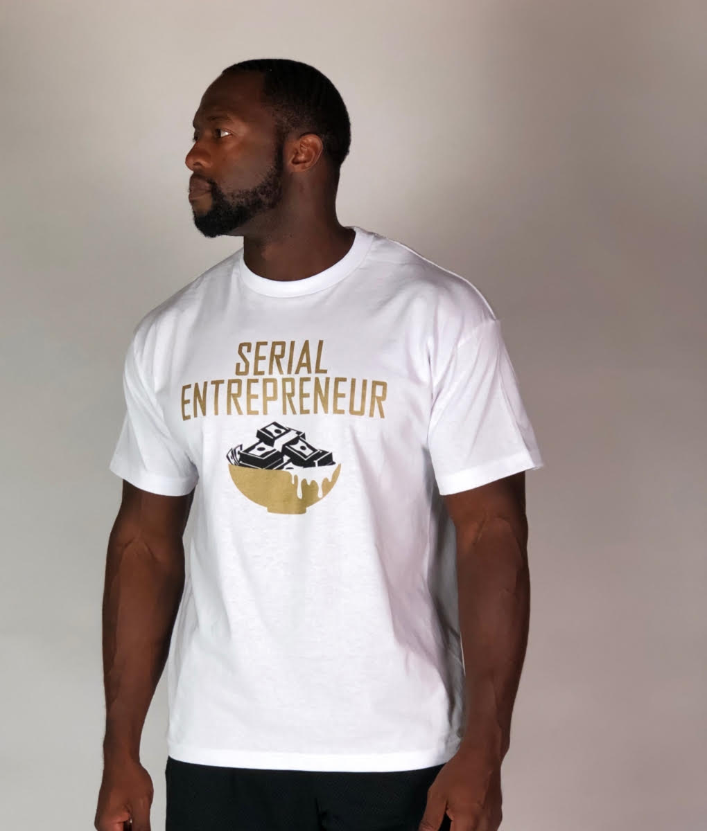 SERIAL ENTREPRENEUR (GOLD STANDARD EDTION) WHITE