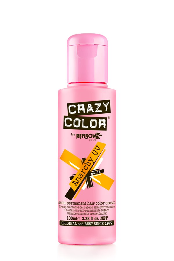 Crazy Colour - Direct Shades 100ml Anarchy UV