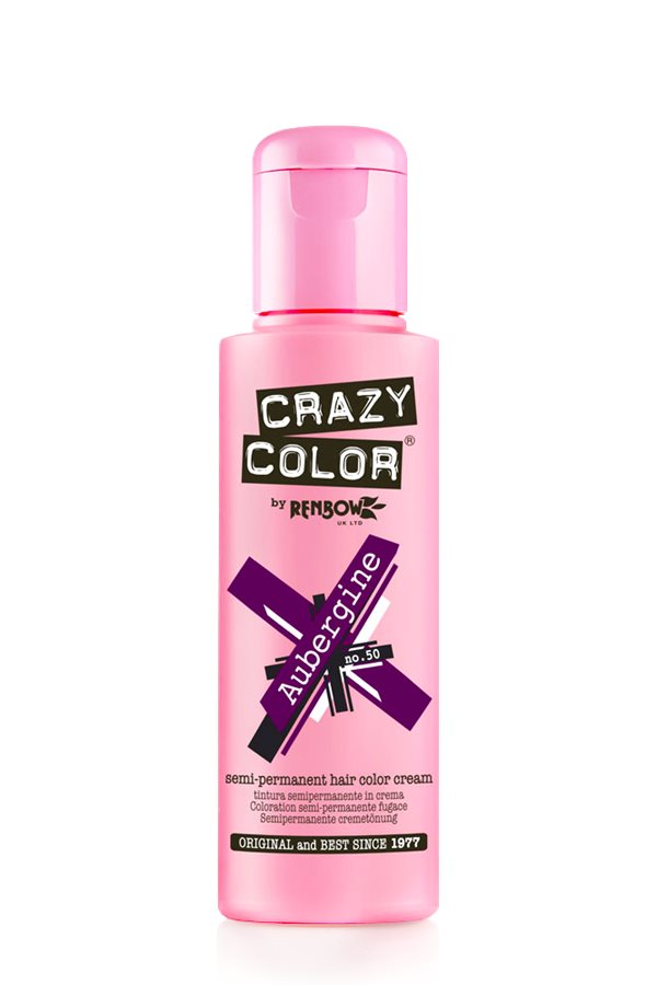 Crazy Colour - Direct Shades 100ml Aubergine
