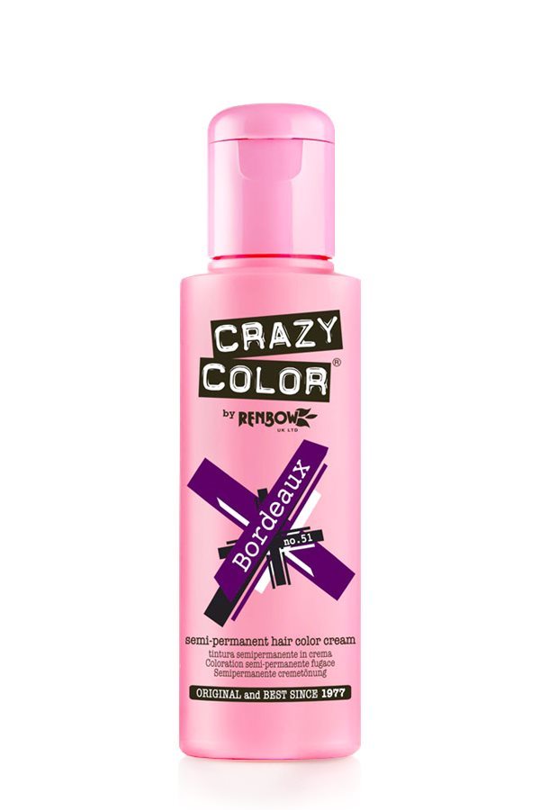 Crazy Colour - Direct Shades 100ml Bordeaux