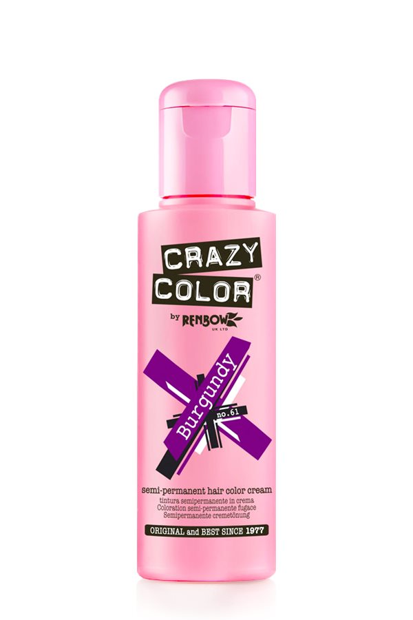 Crazy Colour - Direct Shades 100ml Burgundy