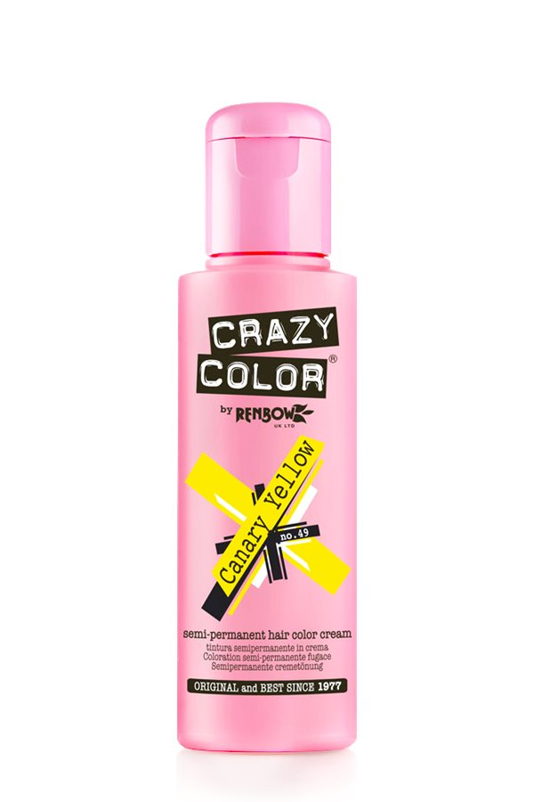 Crazy Colour - Direct Shades 100ml Canary Yellow