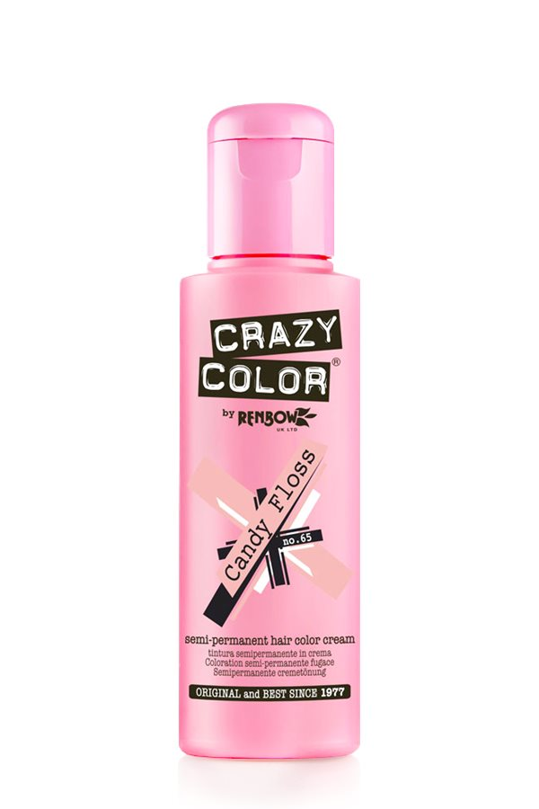 Crazy Colour - Direct Shades 100ml Candy Floss