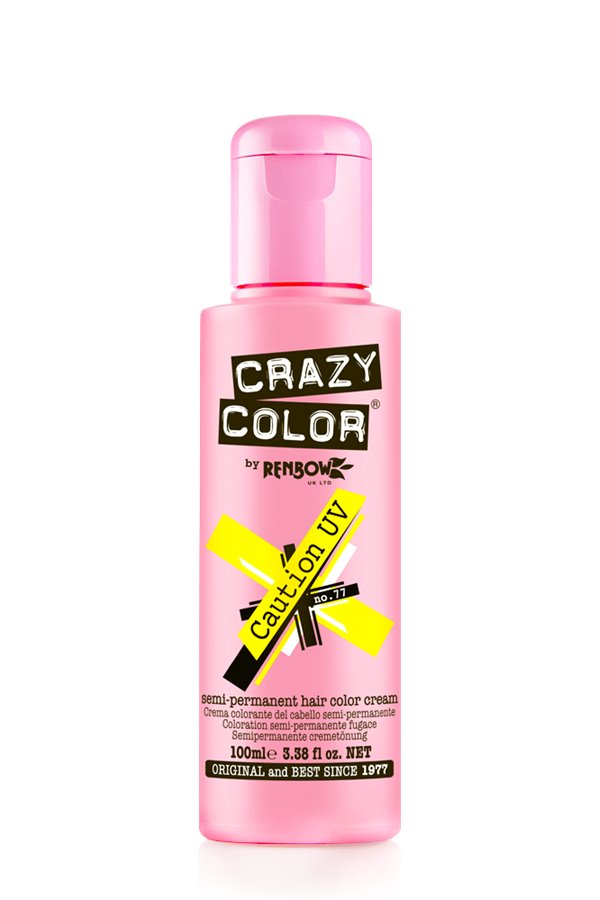 Crazy Colour - Direct Shades 100ml Caution UV
