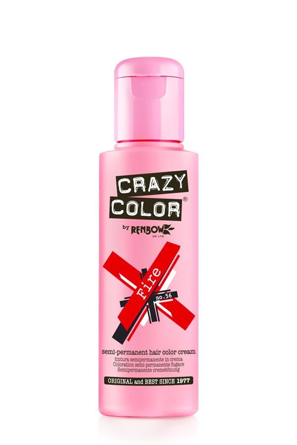 Crazy Colour - Direct Shades 100ml Fire