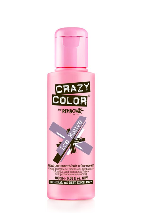 Crazy Colour - Direct Shades 100ml Ice Mauve