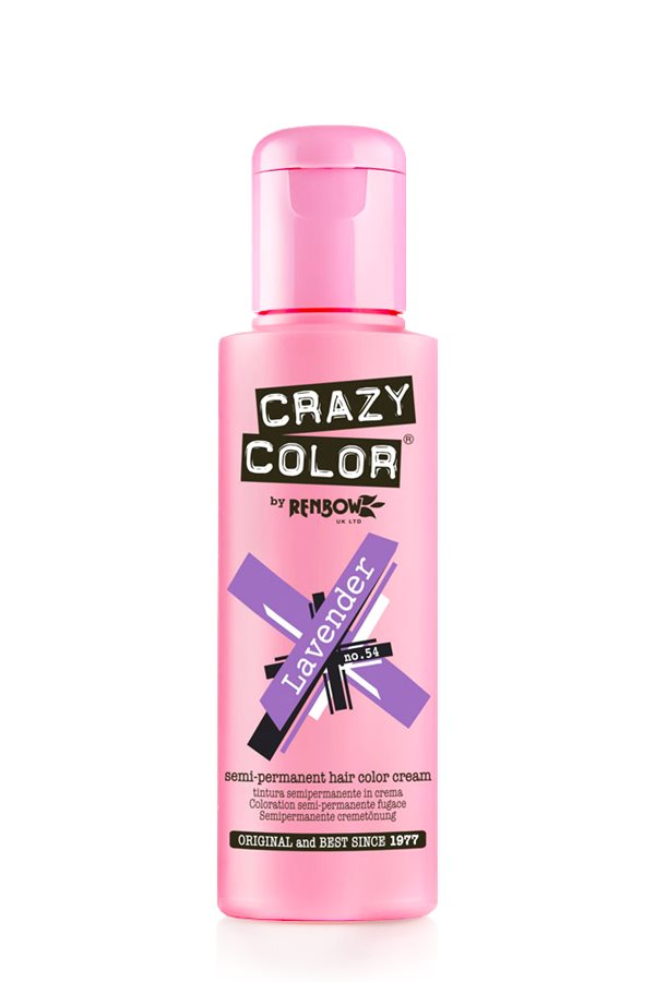 Crazy Colour - Direct Shades 100ml Lavender