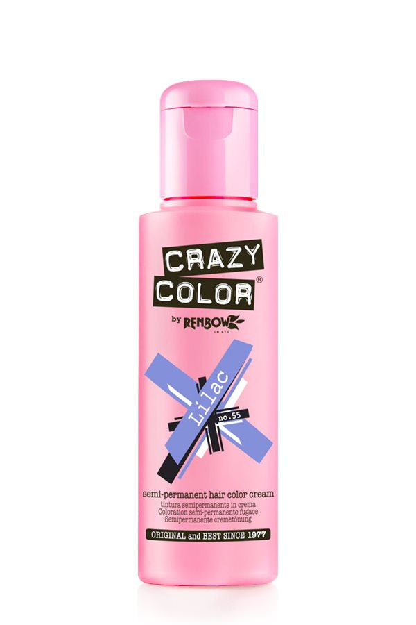 Crazy Colour - Direct Shades 100ml Lilac