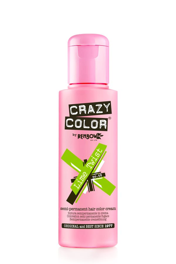 Crazy Colour - Direct Shades 100ml Lime Twist