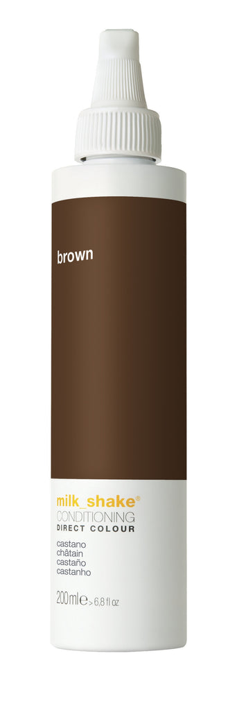 milk_shake DIRECT COLOUR brown