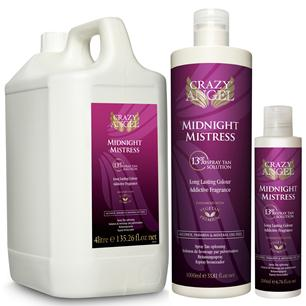 Crazy Angel Midnight Mistress 13% Tanning Liquid