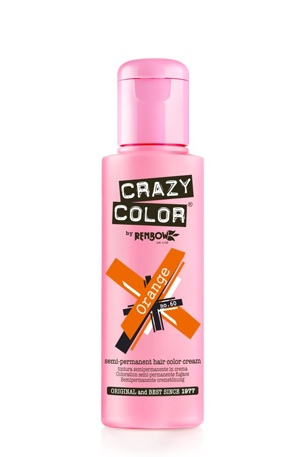 Crazy Colour - Direct Shades 100ml Orange