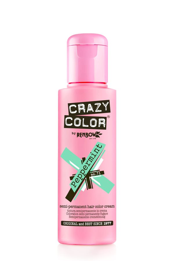 Crazy Colour - Direct Shades 100ml Peppermint