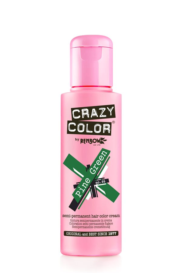 Crazy Colour - Direct Shades 100ml Pine Green