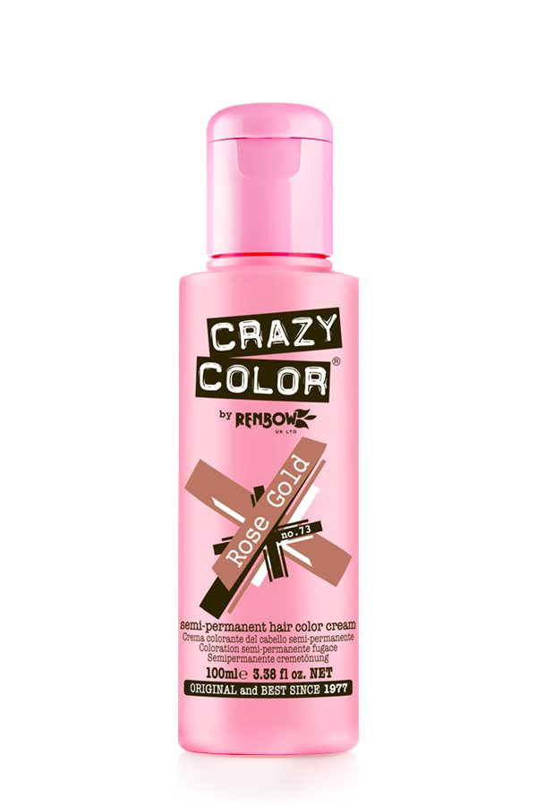 Crazy Colour - Direct Shades 100ml Rose Gold