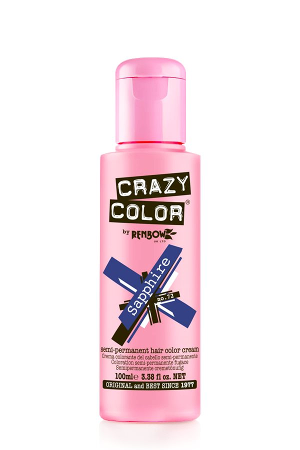 Crazy Colour - Direct Shades 100ml Saphire
