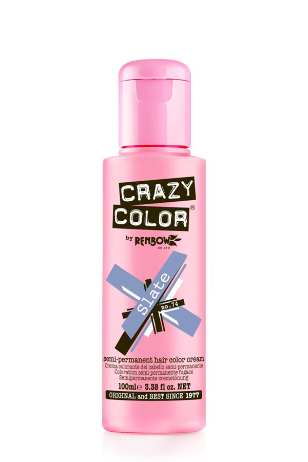 Crazy Colour - Direct Shades 100ml Slate