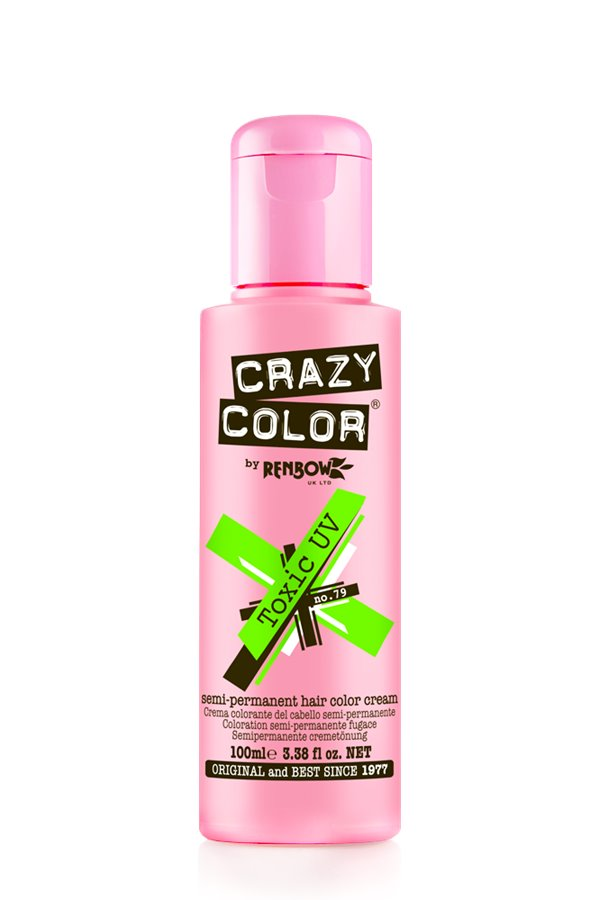 Crazy Colour - Direct Shades 100ml Toxic