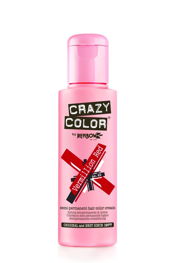 Crazy Colour - Direct Shades 100ml Vermillion