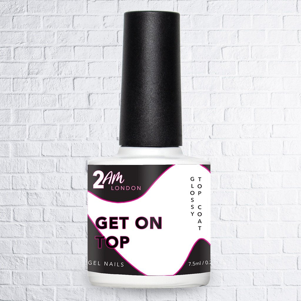 2am London Get on Top Gel Polish Top Coat 7.5ml