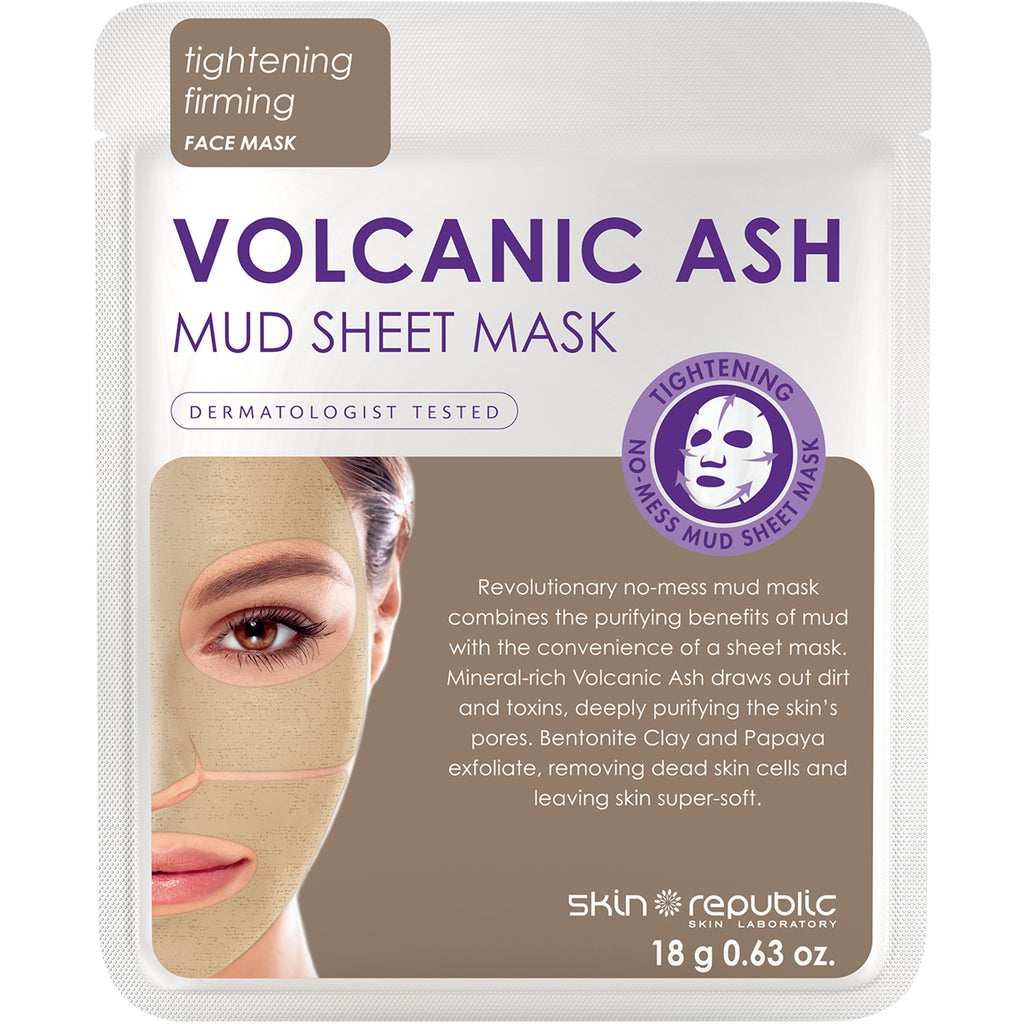 Skin Republic - Volcanic Mud Face Mask
